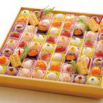 食菜工房 まる山 - 料理写真:豪快てまり寿司(5〜6人前) 6380円+税