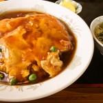 中華料理 森風亭 - カニ玉丼