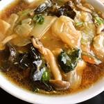中華料理 森風亭 - 広東麺