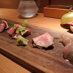57722527 - 「肉の5種盛り」お勧め料理です。