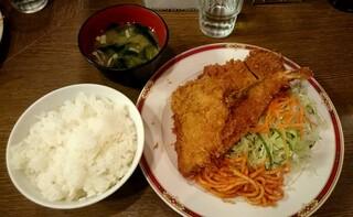 キッチン大正軒 - ヒレミックス定食