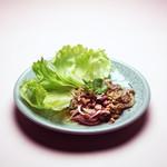鶏挽き肉のハーブ和え ★ ラープ・ガイ