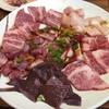 とらじ - 料理写真:ロース・バラ・ハラミ・上ミノ・レバー