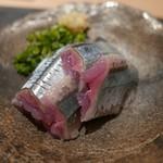 ぎをん 遠藤 - 16年9月 秋刀魚お造り