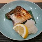 ぎをん 遠藤 - 16年9月 鯖の塩焼き