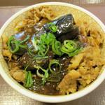 すき家 - マーボーナス牛丼