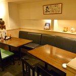 うつぼ浪漫亭 - ラウンジ風のコーナーは小グループで楽しむのにうってつけのスペースです。