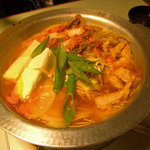 冷麺館 - てっちゃん鍋小¥1,200
