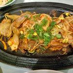 冷麺館 - キムチポッカ(豚キムチ)定食¥900