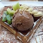 コーヒープリンス2号店 - チョコレートワッフル
