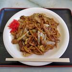 川森食堂 - 料理写真:亀山みそ焼きうどん