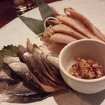 57752136 - 鯖と秋刀魚の燻製