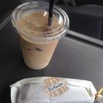 カヌレ ダグリダ - ドリンク写真:車内にて タイガーミルクさん のカフェオレと♡