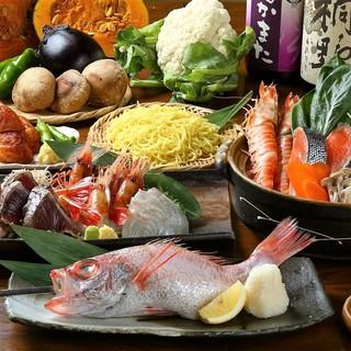 漁港・市場から直送される鮮魚は味・食感が違います!