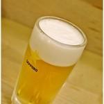全国銘酒 たる松 本店 - サッポロ生ビール 450円 やっぱり最初はこいつをグイっと♪