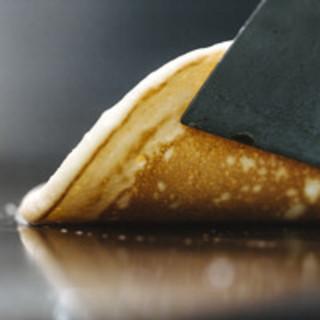 バター風味のしっとりとしたパンケーキ