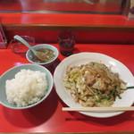 大和家 - 野菜炒め&ライス