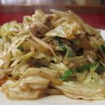 大和家 - 野菜炒めアップ