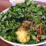 中華 深せん - スパイス醤油味のラム肉炒めと玉子炒飯