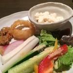 57756318 - 野菜が食べ放題は嬉しいです!