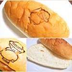大平製パン - コッペパン、ほんのり甘〜〜い そのままでも美味しい〜〜 どんな具を挟んでも仲良くなれると思う♡