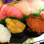 魚寅 - 2016 魚寅のおまかせ寿司(特上)10貫