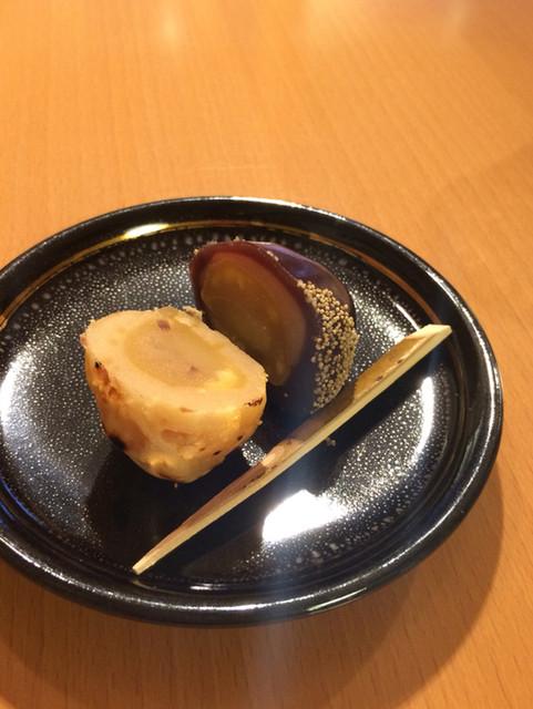 二條若狭屋 寺町店 - サービスのお菓子