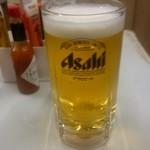 西口やきとん - 生ビール大:450円外税