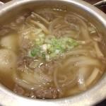 57761699 - 2016.10.20  すじスープ〜あっさりして悪くない出汁(о´∀`о)