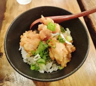 濃厚鶏麺 ゆきかげ - 鶏天丼