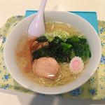 レストランしおかぜ - 料理写真:塩ラーメン 550円