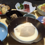 味豆季 - おぼろ豆腐膳 ¥1,650-