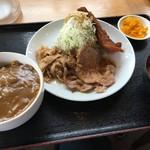 豚さん食堂 - 29日(にくのひ)限定のスペシャルメニュー(税別980円)