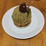 La Terre saison - 和栗の贅沢モンブラン(850円)+8%