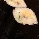 鮨こじま - 小肌ガリ巻き