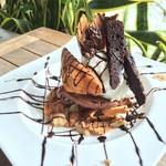 リッコジェラート - 期間限定 島のバナナとチョコのパフェ