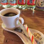 遊食家 じゅまる - セットのコーヒー。