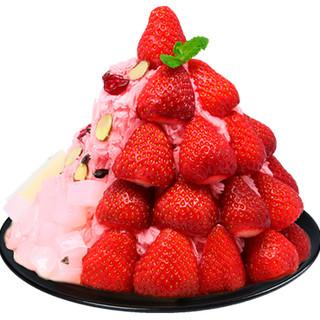 注目☆韓国発のケーキみたいなかき氷*冬限定苺味が見逃せない!