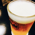 57778797 - セットの生ビール!!大ジョッキです♡