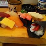 千寿司 - ワンコインにぎり540円