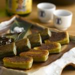 京生麩のごま油焼き