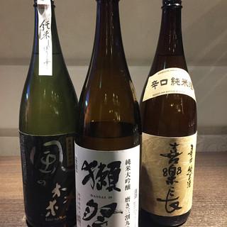 【品数豊かなお酒】