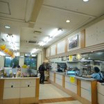 安積パーキングエリア(上り線)  スナックコーナー - '10/10月店内席
