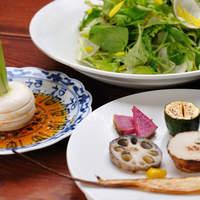 やまと 楽 - 野菜サラダいろいろ 650円より