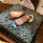 福の根dining - 和牛バラ石焼き お肉柔らか〜♪