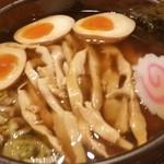 拉麺 閏 - 醤油ラーメン 味玉 メンマ