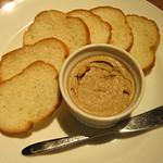 オステリア ファーヴェ - フォワグラと鶏レバーのパテ