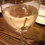 マルゲリータパリアッチョ - 白ワイングラス