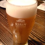 マルゲリータパリアッチョ - 生ビール