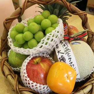 毎日200gの果物で元気いっぱい!!